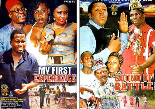 Cartazes da filmes na Nigéria