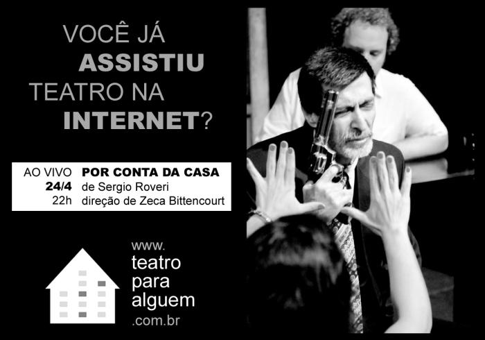 Por Conta da Casa - flyer